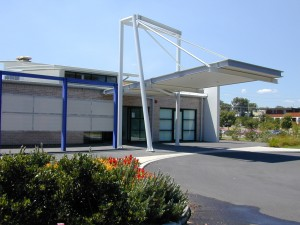 Nepean Cancer Care Centre entrance